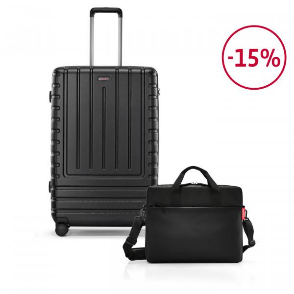 workbag + suitcase L Spar-Set