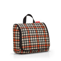 toiletbag XL glencheck red