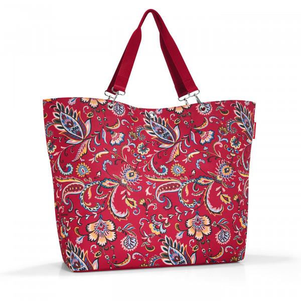 shopper XL paisley ruby