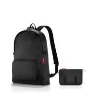 mini maxi rucksack black