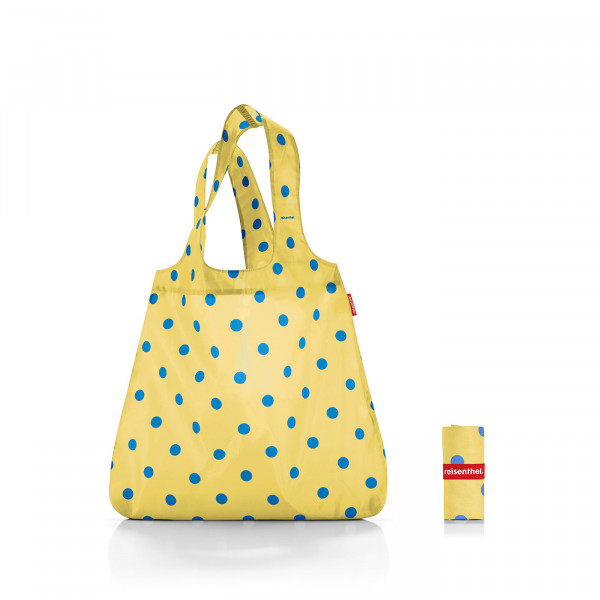 mini maxi shopper dots lemon meringue