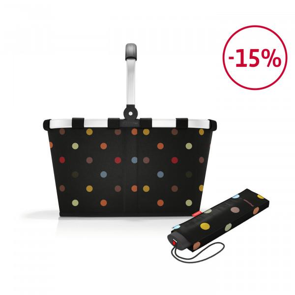 carrybag + umbrella pocket mini Spar-Set