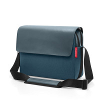 courierbag 2 canvas blue