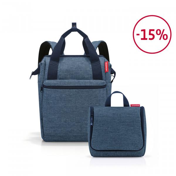 allrounder R + toiletbag Spar-Set