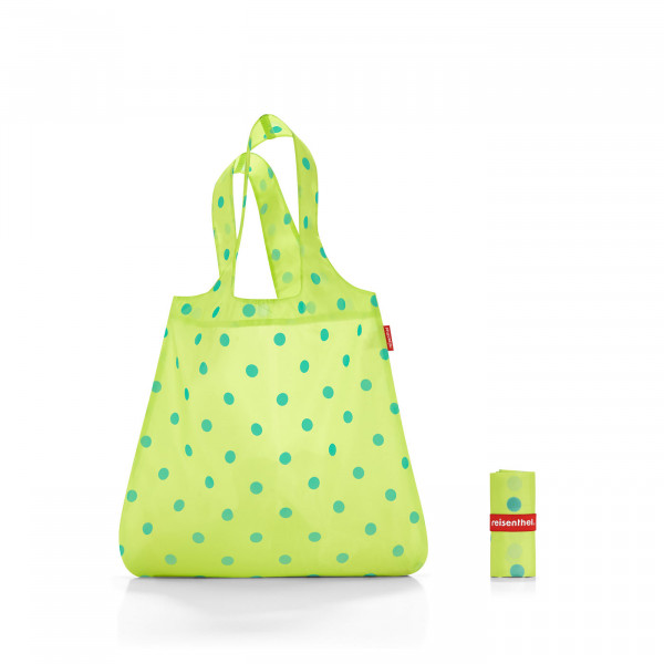 mini maxi shopper lemon dots