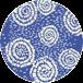 batik strong blue 4070