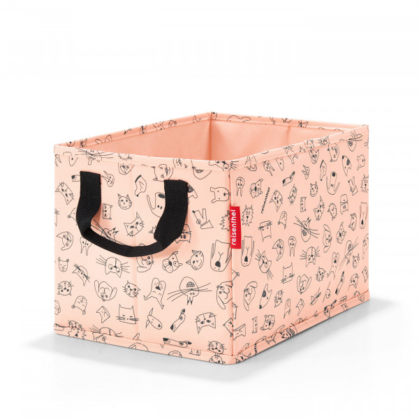 storagebox kids cats and dogs rose