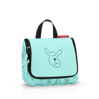 toiletbag S kids cats and dogs mint