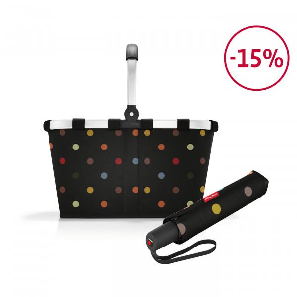 carrybag + umbrella pocket duomatic Spar-Set