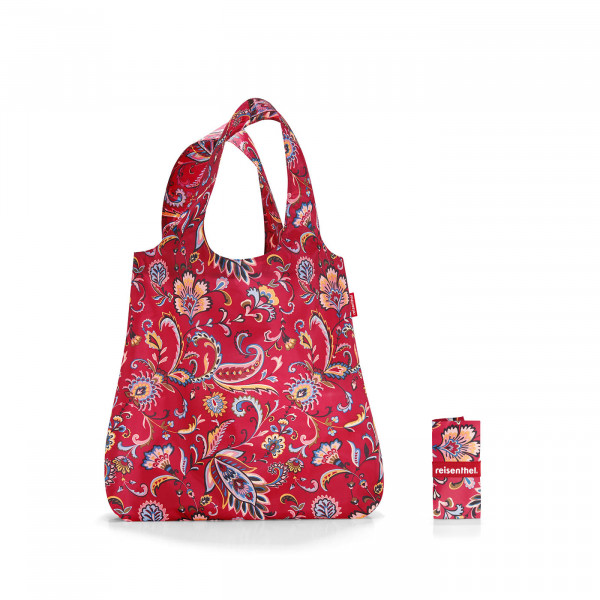 mini maxi shopper paisley ruby
