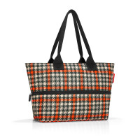 shopper e1 glencheck red