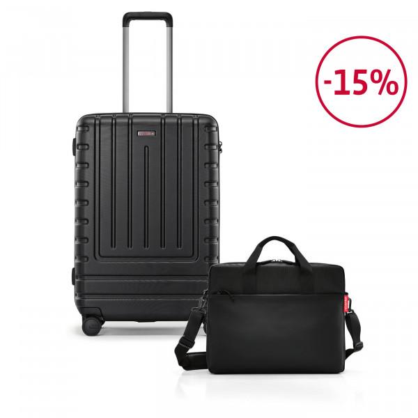 workbag + suitcase M Spar-Set