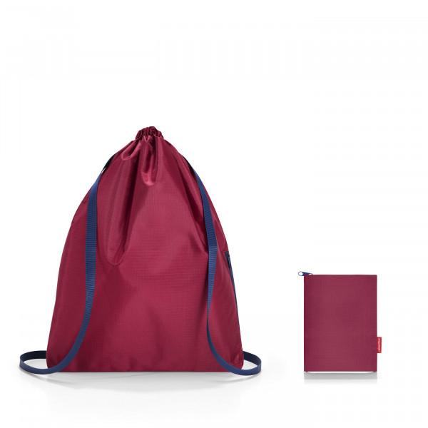 mini maxi sacpack dark ruby