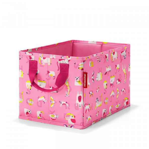 storagebox kids abc friends pink