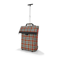 trolley M glencheck red