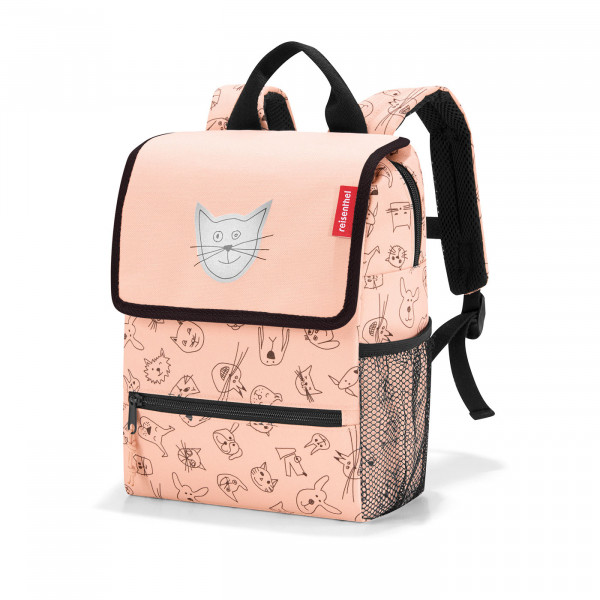 backpack kids cats and dogs rose