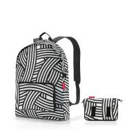 mini maxi rucksack zebra