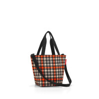 shopper XS glencheck red
