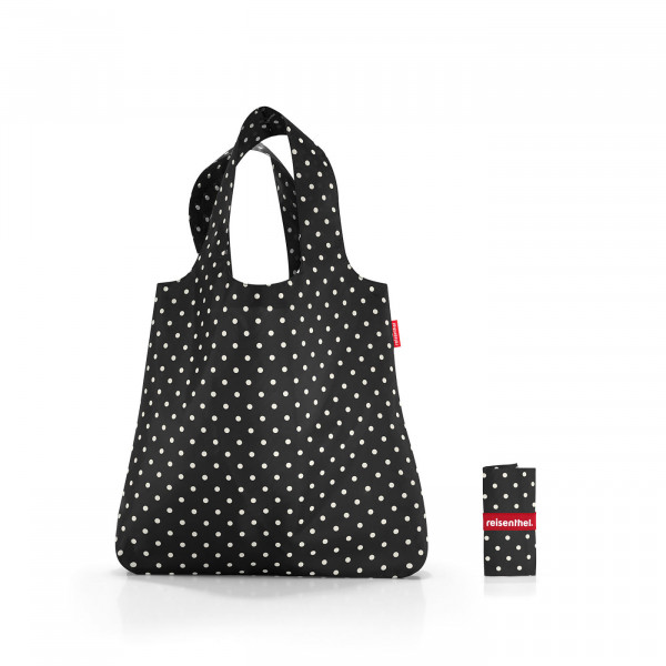 mini maxi shopper mixed dots