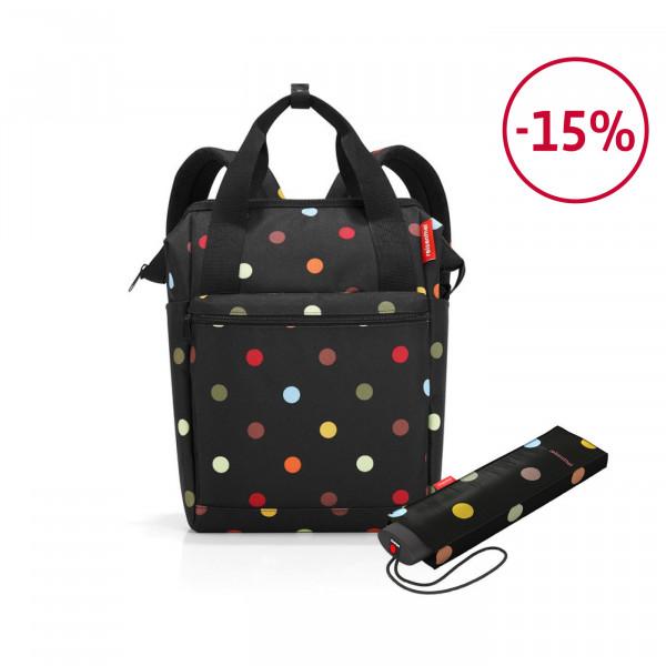 allrounder R + umbrella pocket mini Spar-Set