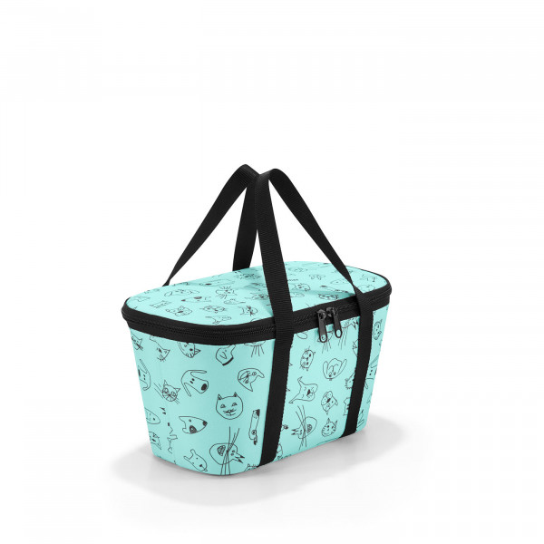coolerbag XS cats and dogs mint