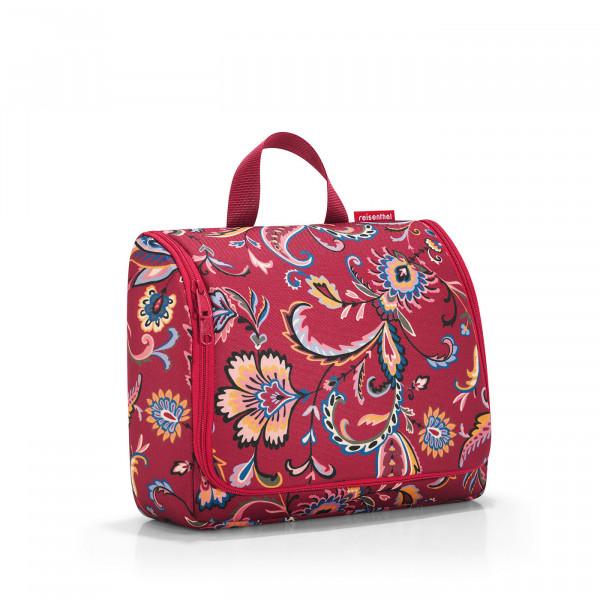 toiletbag XL paisley ruby