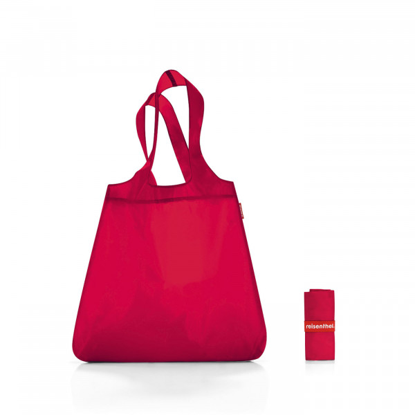 mini maxi shopper red