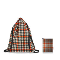 mini maxi sacpack glencheck red