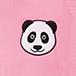 panda dots pink 3072