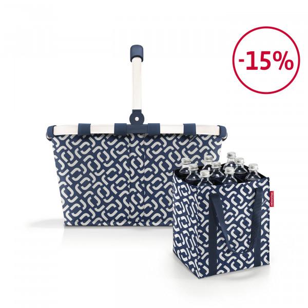 carrybag + bottlebag Spar-Set