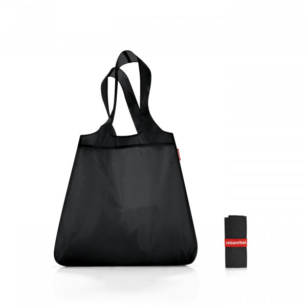 mini maxi shopper black
