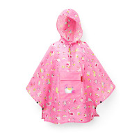mini maxi poncho M kids abc friends pink