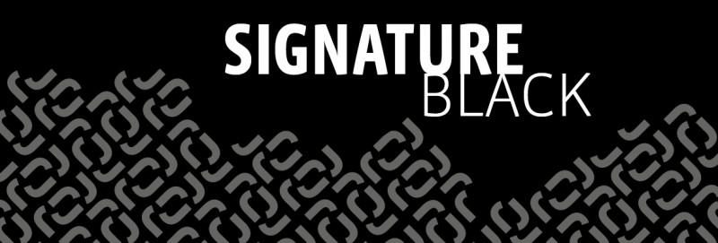 signature black Dekor