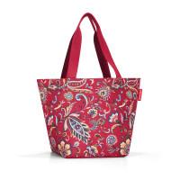 shopper M paisley ruby