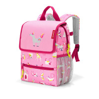 backpack kids abc friends pink 3066
