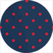 mixed dots red 3075