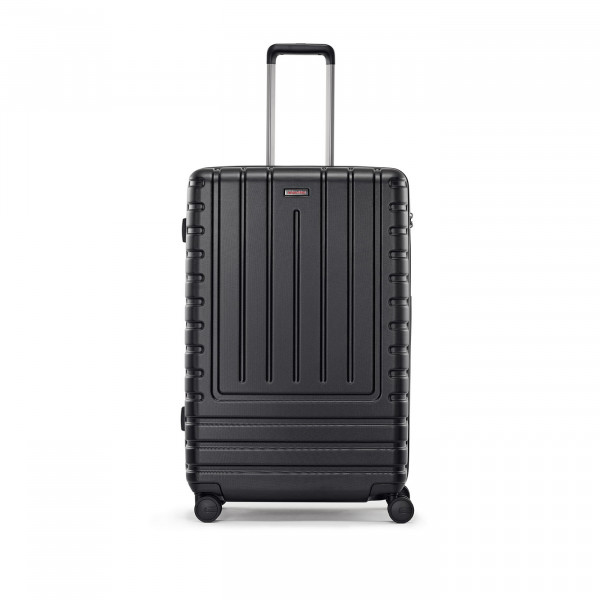 suitcase L iconic shell black