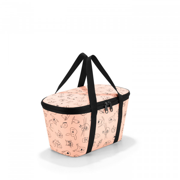 coolerbag XS cats and dogs rose