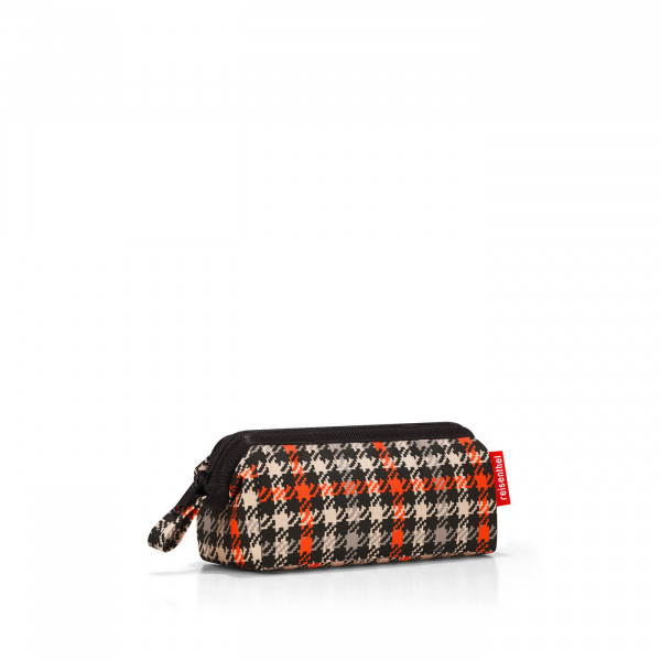 travelcosmetic XS glencheck red
