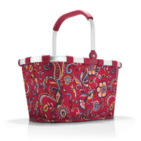 carrybag paisley ruby
