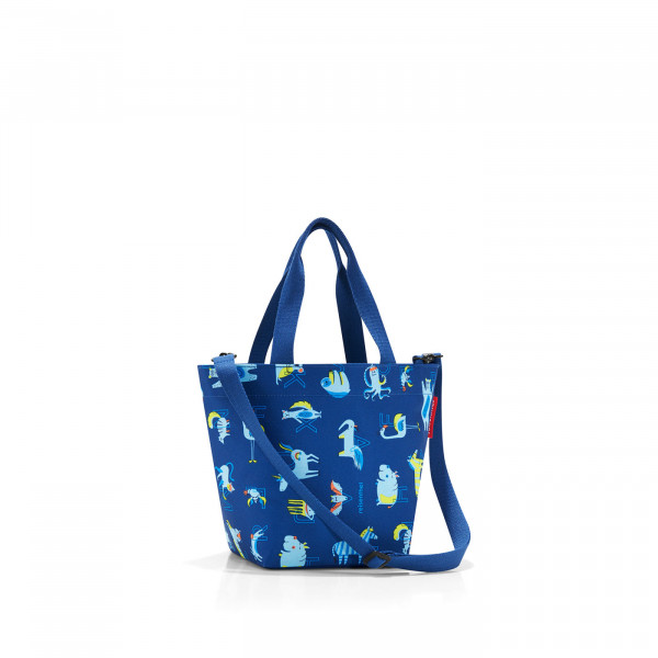 shopper XS kids abc friends blue