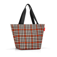 shopper M glencheck red