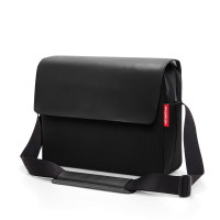 courierbag 2 canvas black