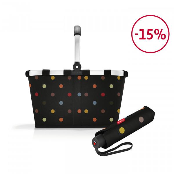 carrybag + umbrella pocket classic Spar-Set