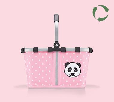 panda dots pink