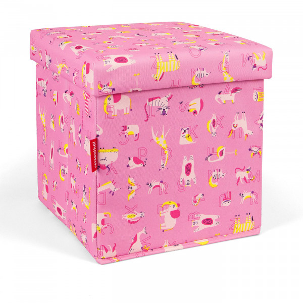 sitbox kids abc friends pink