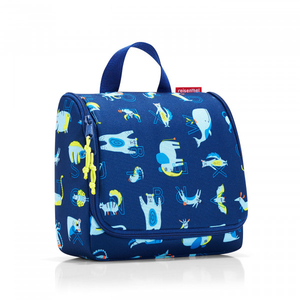 toiletbag kids abc friends blue