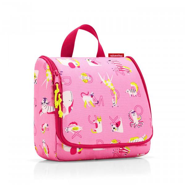 toiletbag kids abc friends pink