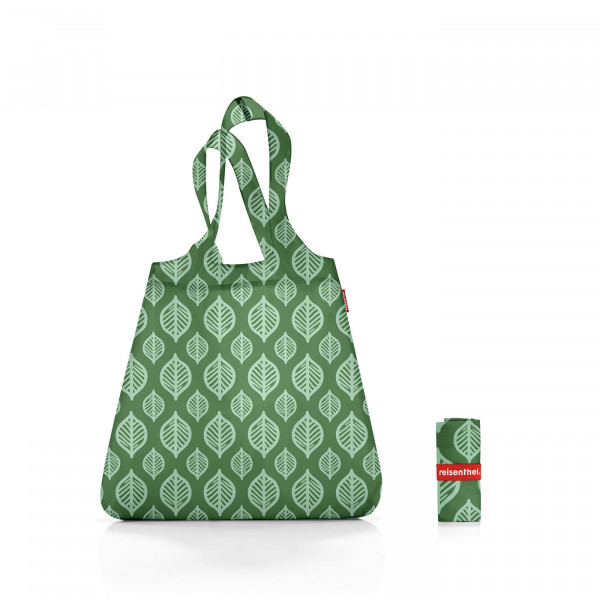 mini maxi shopper garden green