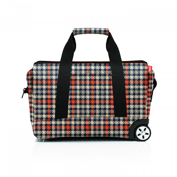allrounder trolley glencheck red